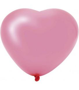 Harballonnen 6 stuks roze