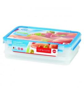 Emsa Clip & Close 3D vleesdoos 1,65 en 1 liter