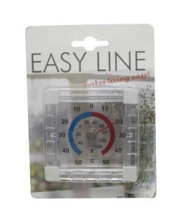 Thermometer raam bevestiging -50 tot +50  (binnen/ buiten)
