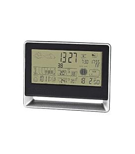 Nedis WEST405BK Weerstation Draadloze Sensor Alarmklok Weersvoorspelling