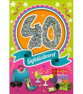 Leeftijdskaart 40 jaar