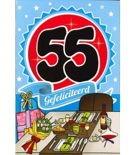 Leeftijdskaart 55 jaar
