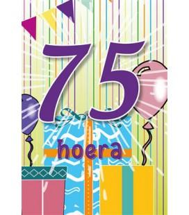 Leeftijdskaart 75 jaar