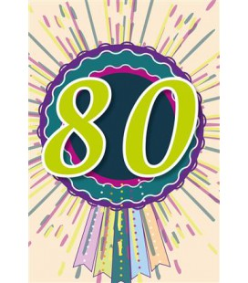 Leeftijdskaart 80 jaar