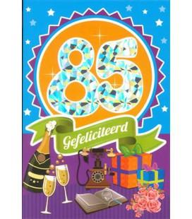 Leeftijdskaart 85 jaar