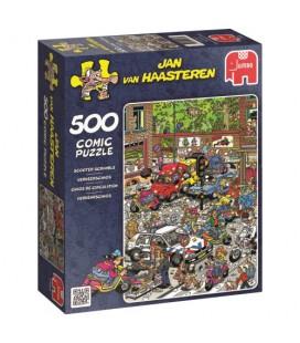 Jan van Haasteren puzzel: verkeerschaos 500 stukjes