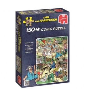 Jan van Haasteren puzzel: Plezier in het park 150 stukjes