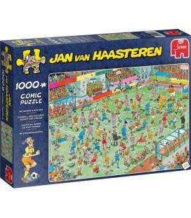 Jan van Haasteren puzzel: WK vrouwenvoetbal 1000 stukjes