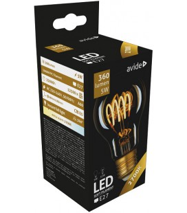 Avide LED lamp Soft Filament 5W E27 2700K 360LM