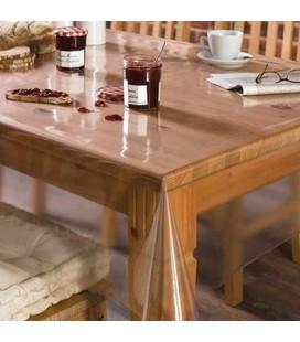 transparant tafelzeil 0.20mm - 140cm x  2 meter
