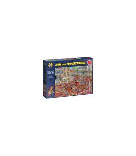 Puzzel Jan van Haastereen  La Tomatina 1000 stukjes