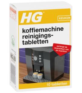 HG koffiemachine reinigingstabletten 10 tabletten