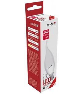 Avide LED Candle Flame E14 6W warmwit 3000K (460 lumen) ABC14WW-6W-FL