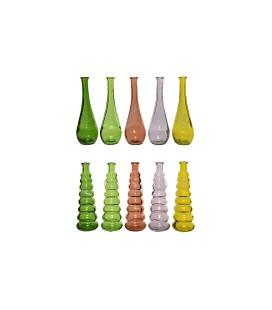 Vaas recycled glas H18cm (uitlopend)