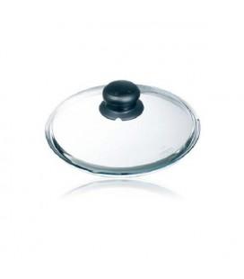 Pyrex deksel met knop 20cm