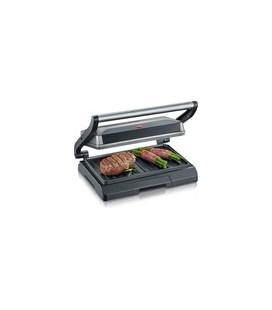 Severin compact grill grijs/zwart