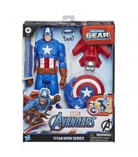 AVENGERS TITAN HERO BLAST GEAR CAPTAIN AMERICA 30 CM