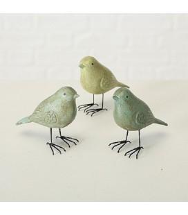 Boltze Home Vogel Fipsy mdf l13cm groen (assorti per stuk geleverd)