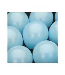 Ballonnen Middenblauw 25cm zak a 10stuks