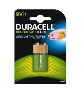 Duracell Recharge Ultra 9V 170mAh HR9v  oplaadbaar