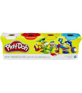 Refill Play-Doh 4-pack: 448 gram