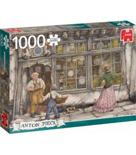 Puzzel Anton Pieck: De klokkenwinkel 1000 stukjes