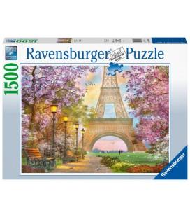 Puzzel Verliefd in Parijs: 1500 stukjes (160006)