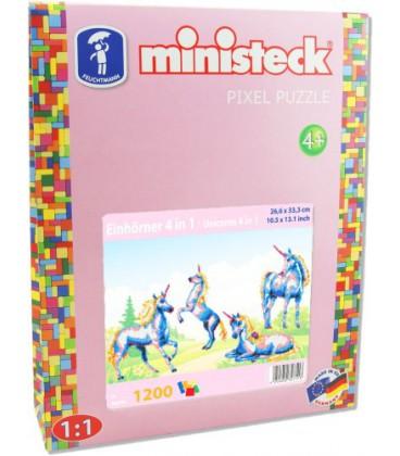 Eenhoorn Ministeck 4-in-1: 1200-delig (32751)