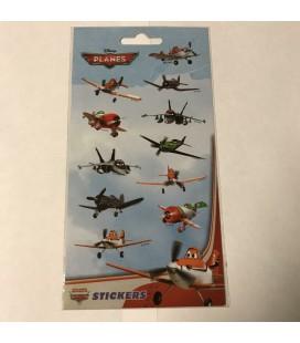 Stickervel disney planes afm. 20x10cm