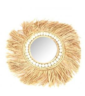 Mirror grass Ø40cm Natural