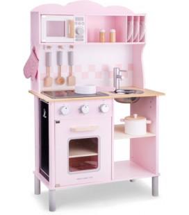 keukentje New Classic Toys modern: roze: 99x60x30 cm (11067) - leverbaar mei
