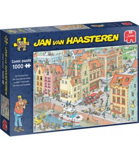 Jan van Haasteren 1000 stukjes het ontbrekende stukje 20041
