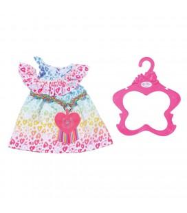 BABY BORN RAINBOW DRESS 43 CM