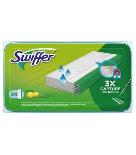 Swiffer Sweeper vochtige doekjes navulpak 24 stuks 26x46cm