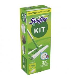 Swiffer Sweeper Starterkit vloerwisser met 8 navul stofdoekjes
