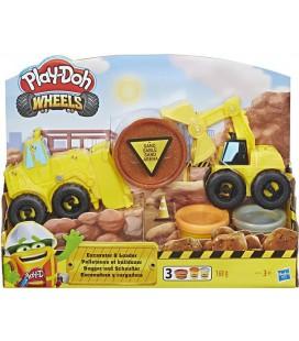 Graafmachine en Bulldozer Play-Doh: 168 gram (E4294)