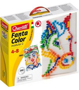 Insteek Mozaiek Quercetti FantaColor: 300-delig (0851)
