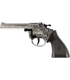 Klappertjes Pistool Ringo Wicke: 20 cm 8 schoten (30334)