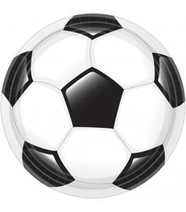 Goal voetbal borden 23cm 8 stuks