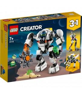 LEGO CREATOR 31115 3IN1 RUIMTEMIJNBOUW-MECHA