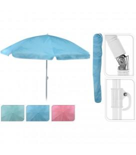 Parasol regenboog met knik 180 cm