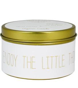 SOJAKAARS - ENJOY THE LITTLE THINGS - GEUR: FRESH COTTON