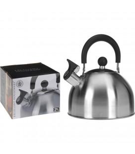 Fluitketel rvs 2,5 liter 19,3xH12 cm