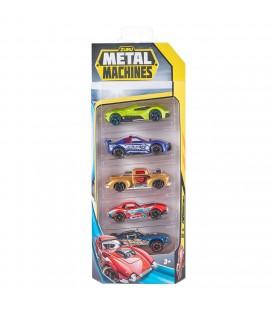 ZURU METAL MACHINES DIECAST AUTO'S 5 PACK ASSORTI