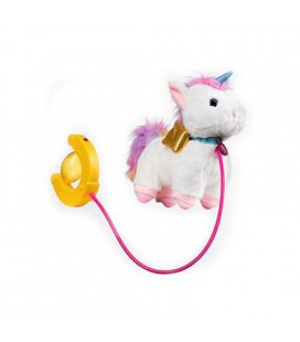 SPRINT LUCKY PULL ALONG PLUSH WITH FUNNY SOUNDS