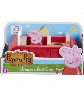 PEPPA PIG HOUTEN FAMILIEAUTO ROOD