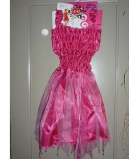 Ballerina strass girl roze/fuchsia