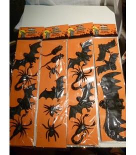 deco - Halloween griezelige beestjes