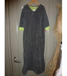 Isi Mini - Slaapzak met mouwen d.groen