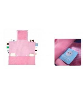 Snoozebaby - Luier verwisselkleedje roze